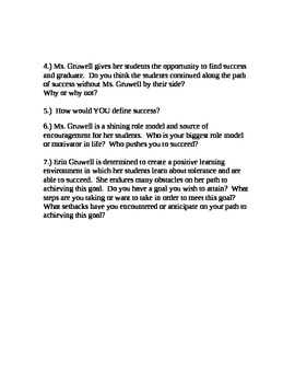 Freedom Writers Lesson Plan