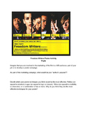 Freedom Writers Movie Poster Project