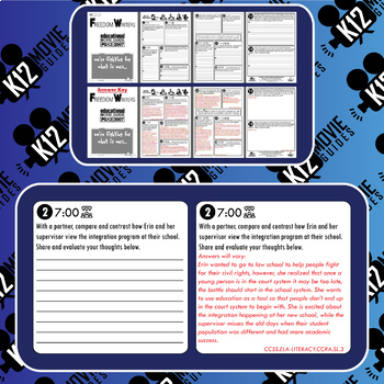 Freedom Writers Movie Guide   Questions   Worksheet (PG13 - 2007)