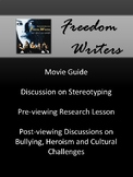 Freedom Writers Movie and Discussion Guide
