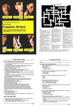 Freedom Writers - Resource Bundle