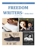 Freedom Writers Unit Film Package-10 days of class: templates, questions, news