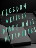 Freedom Writers Diary Unit Activities