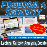 Freedom of Security of the Person (13th, 2nd and 4th)Lecture, Cartoons & Debate