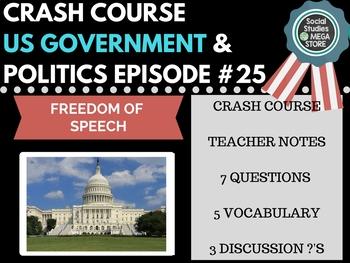 Freedom of Speech: Crash Course Government and Politics #25