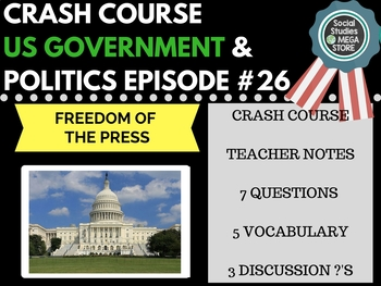 Freedom of the Press: Crash Course Government and Politics #26