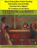 Freedom on the Menu The Greensboro Sit-ins