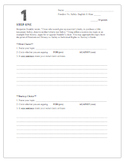 Freedom vs Safety Essay - Writing Process Steps - Common C