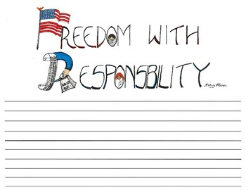 Freedom with Responsibility Worksheet