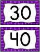 Free Counting by 10's Display Cards