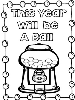 Freebie !! This Year Will Be a Ball!