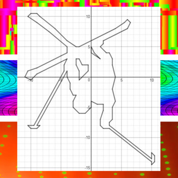 Freestyle Aerial Skiing - 15 Systems & Coordinate Graphing Activity