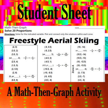 Freestyle Aerial Skiing - A Math-Then-Graph Activity - Solving Proportions