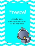 Freeze!  A Winter Reading Game