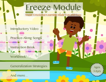 Freeze Bundle | Self Regulation, Classroom / Behavior Management, Mindfulness