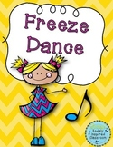 Brain Break - Freeze Dance {FREEBIE}
