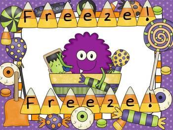 Freeze Dance Alphabet - Candy Monsters