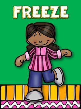 Brain Break - Freeze Dance