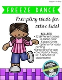 Freeze Dance Game (Any Subject) (32 poses!)   Distance Learning