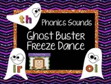 Freeze Dance Phonics  - Ghost Busters
