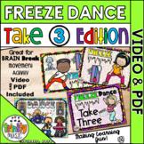 Freeze Dance (Take 3 Edition) Music Video & PDF   Distance