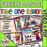 Freeze Dance (Take 1 Edition) Music Video & PDF   Distance