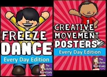 Freeze Dance and Creative Movement