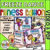 Freeze Dance (Fitness Edition) Music Video & PDF   Distanc