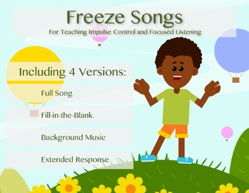 Freeze Song Versions
