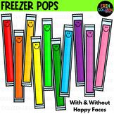 Freezer Ice Pops Clipart FREEBIE Happy summer!