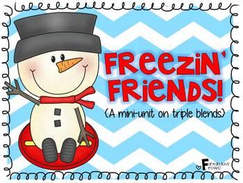 Freezin' Friends!  A Mini-Unit on Triple Blends/Clusters