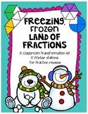 Freezing Frozen Land of Fractions