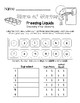 States of Matter - Freezing Liquids Worksheet