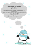 Math game & activities _Freezing Winter (number 1-30;patte