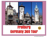 Freiburg Germany Tour Project - Digital or Printable - distance learning