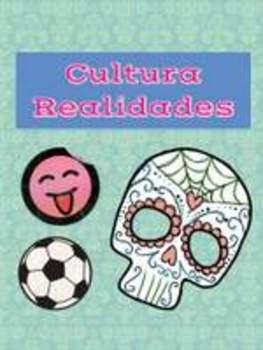 Freida Kahlo author info and paintings Spanish 1 (Realidades 1B)