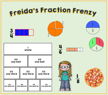 Freida's Fraction Frenzy