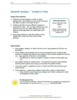 ASL Lesson Plan -Freight Train -A Sign, Read and Play Collection