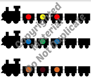 Freight Train M&M Patterning