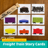 Freight Train Story Cards