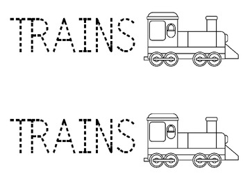 Freight Trains: A Preschool Unit of Basic Concepts and Language Activities