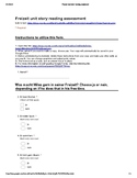 Freizeit free time Unit Story with Google Forms assessment
