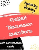 Freizeit free time discussion questions speaking activity