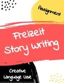 Freizeit free time story writing