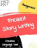 Freizeit free time story writing