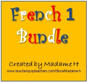 French 1 Bundle