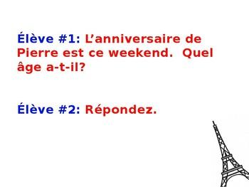 French 1 Dialogue: Joyeux anniversaire!
