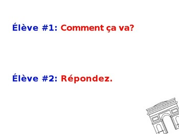 French 1 Dialogue: Tu voudrais aller?