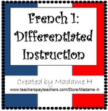 French Choice Boards