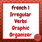French 1 - Irregular Verb Graphic Organizer